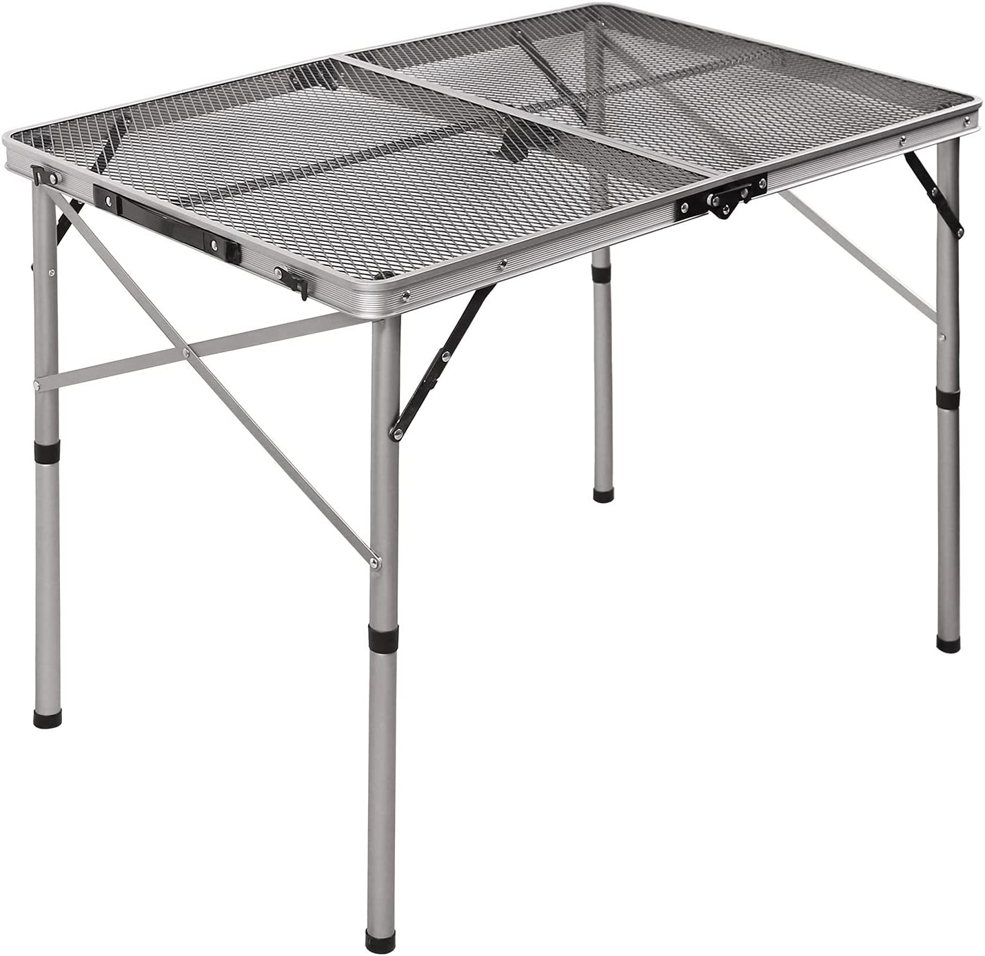 3ft Folding Grill Mail order Table for Camping Height Max 82% OFF Adjustable Ligh
