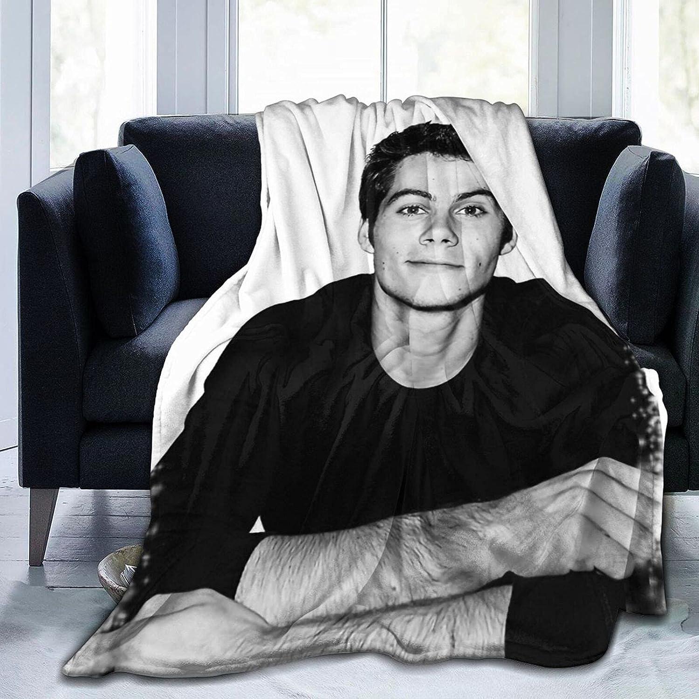 trend rank Gadimen Dylan O'Brien Throw Blanket Flan Lightweight Soft Daily bargain sale Super