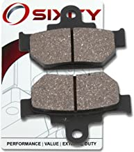 Sixity Front Organic Brake Pads 2005-2009 for Suzuki S40 Boulevard Set Full Kit LS 650 K5 K6 K7 K8 K9 L1 L2 L3 L4 L5 Complete