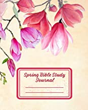 Spring Bible Study Journal: 3 Month Daily Devotions Workbook (8