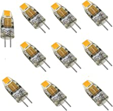 Bi-Pin Mini G4 LED Bulb 12V-24V DC 1W COB 0705 SMD Silicone Lamp Chandelier Combination Crystal Transparent Lamp Reading W...
