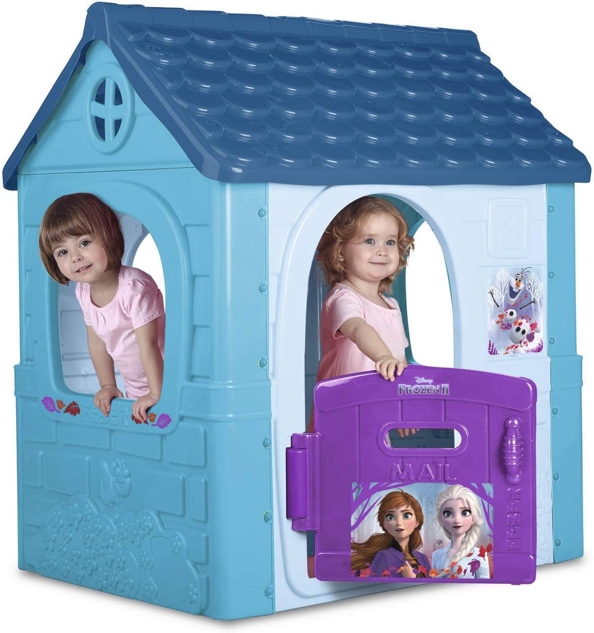 playhouse for Kids garden toys Famosa Toys 800012198 FEBER outdoor blue Fantasy House Frozen 2