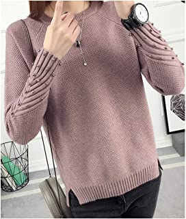 Winter Long Sleeved Sweater Female Korean Students Loose Short Sleeve Thick Knitted Shirt