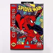 Amazing Spider-Man Vs. The Kingpin Game Cartridge 16 Bit Md Game Card With Retail Box For Sega Mega Drive For Genesis