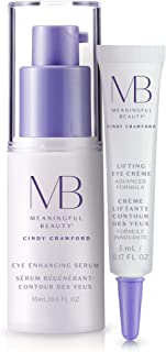 Meaningful Beauty – Under Eye Skincare System – for Dark Circles, Brightening, and Lifting