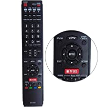 New GB118WJSA Replacement Smart TV Remote Control Fit for Sharp Aquos TV GB005WJSA GB004WJS GA890WJSA LC60C6600U LC60EQ10U LC60EQ30U LC60LE660U LC70EQ10U LC-70EQ30U LC70SQ17U LC-70SQ17U LC80UQ17U