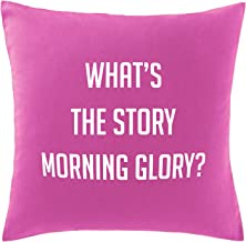 Hippowarehouse What's the story morning glory? Printed bedroom accessory cushion cover case 41x41cm