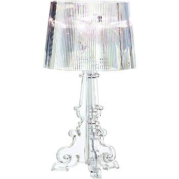 Kartell Bourgie, Lampada da tavolo, Dimmerabile, Trasparente(Cristallo)