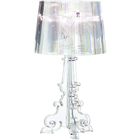 Kartell Bourgie, Lampe de table, Cristal, version Dimmable