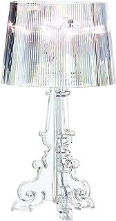 Kartell Bourgie, Lampe de Table, Avec Variateur de Lumière, Cristal