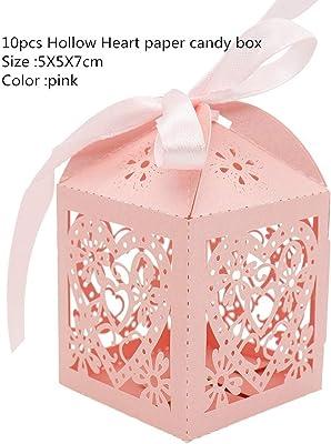Amazon.com: KPOSIYA - Cajas de regalo para bodas, cortadas ...