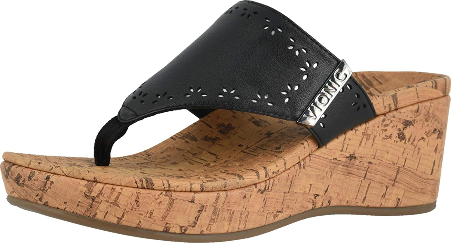 Anitra Wedge Sandals -Toe-Post
