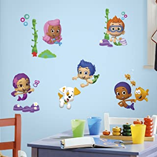 RoomMates Bubble Guppies Peel And Stick Wall Decals - RMK2404SCS,Multi