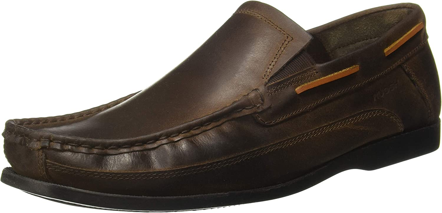 Ruosh Men's Brown Boat shoes-8 UK India (42 EU)(AW18 Ally 01A)