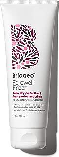 Briogeo Farewell Frizz Blow Dry Perfection & Heat Protectant Crème, 4 oz.