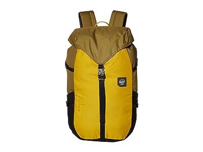 Herschel Supply Co. Barlow Large (Khaki Green/Arrowwood/Black) Backpack Bags