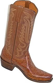 Men's Handmade Luke Full Quill Ostrich Western Boot Snip Toe - N1156.73