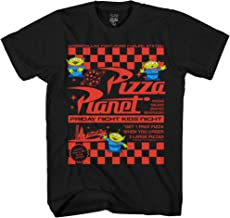 Disney Pixar Toy Story Pizza Planet Take Out Flyer Disneyland World Tee Funny Humor Men's Graphic T-Shirt