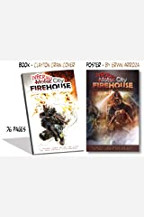 Inferno City Firehouse w/ Saving Girl Poster (8.5 x 12) Perfect Paperback