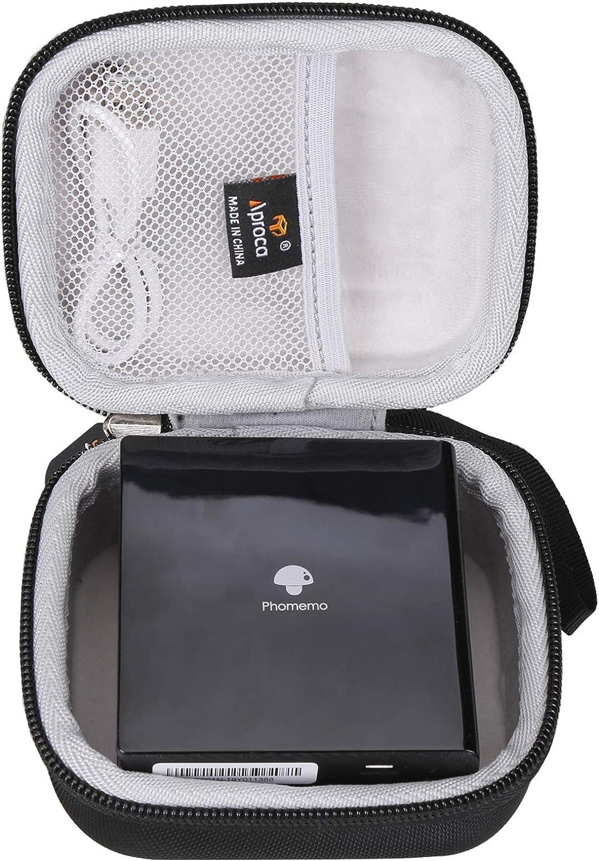 Aproca Hard Storage Travel Case, for Phomemo M02 Mini Pocket Printer