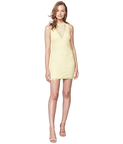 Bardot Aubrey Lace Dress (Sunny Yellow) Women