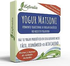 Fermento de Yogur Matsoni (Reusable de forma ilimitada) + Instrucciones + Recetas + Ayuda y asesoramiento en español - KEFIRALIA®