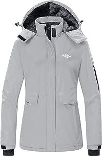 Women's Mountain Ski Fleece Jacket Waterproof Parka...