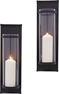 wholesale dealer 89b35 523cc Amazon.com: Black - Candle Sconces / Candleholders: Home ...