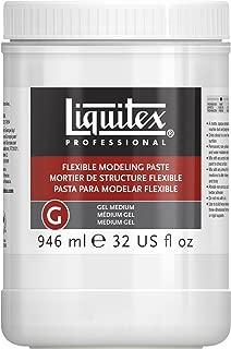 Liquitex Professional Flexible Modeling Paste Medium, 32-oz (8932), 32 oz, White