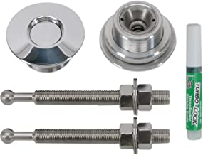 QL-38-LP Quik-Latch Hood Pin Kit (Polished Aluminum)