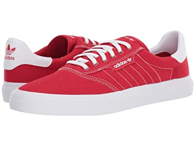 adidas Skateboarding 3MC (Scarle/Off-White/Off-White) Men