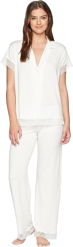 Malou Lace Short/Long Sleeve PJ Set
