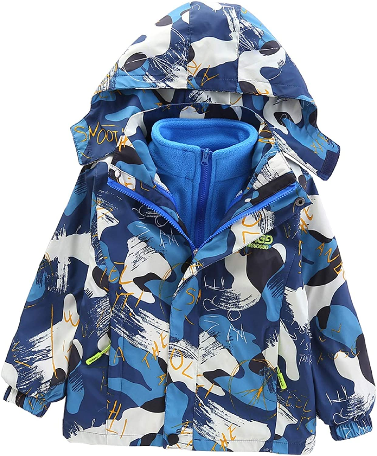 LUKEY Boys Hooded Windproof New product Comfor Breathable Reservation Lightweight Jacket