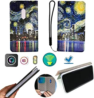 FY Flip Case For Tecno Spark 4 Lite Cover Flip PU Leather + Silicone Ring case Fixed CSXK