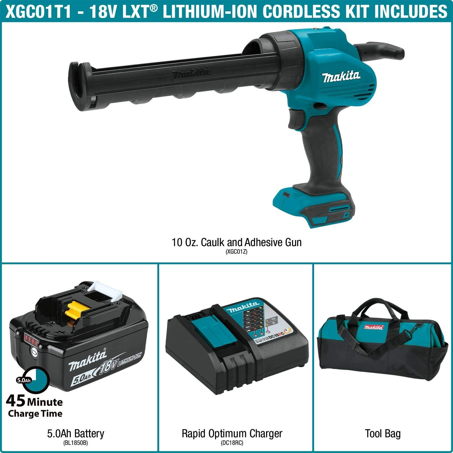 Amazon Com Makita Power Tools Caulking Guns