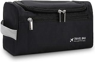 Bolsa de Aseo de Viaje, TYC Estuche de maquillaje de viaje Kit de Organizador de Artículos de Tocador de Viaje Colgante co...