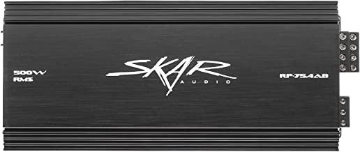 Skar Audio RP-75.4AB 500 Watt Full-Range Class A/B 4 Channel Car Amplifier