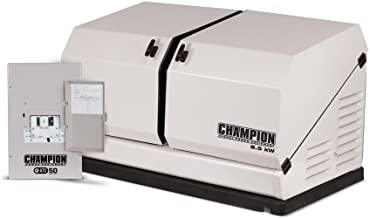 Champion 8.5-kW Home Standby Generator with 50-Amp Indoor-Rated Automatic Transfer Switch