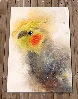 Cockatiel Art Print - Pet Bird Painting