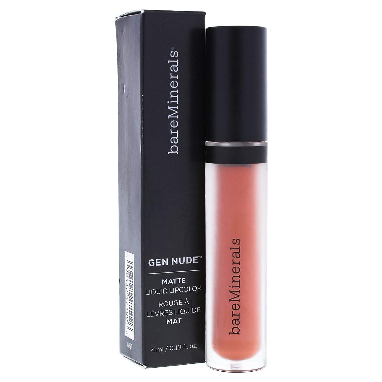 教育する取り出す選択するベアミネラル Gen Nude Matte Liquid Lipcolor - Weekend 4ml/0.13oz並行輸入品