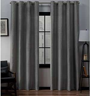 Exclusive Home Curtains Loha Window 54x96 EH7968-01 2-96G