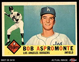 1960 Topps # 547 Bob Aspromonte Los Angeles Dodgers (Baseball Card) Dean's Cards 5 - EX Dodgers