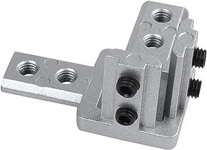 Ctzrzyt 3-weg eindbeugel hoekbeugel connector voor T groef aluminium extrusieprofiel 3030 serie (4 stuks met schroeven)