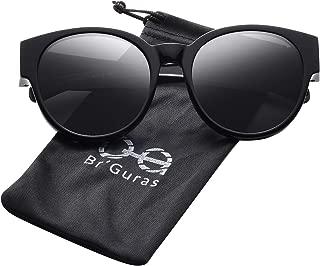 Br'Guras Polarized Oversized Fit over Sunglasses Over Prescription Glasses with Cat Eye Frame for Women&Men