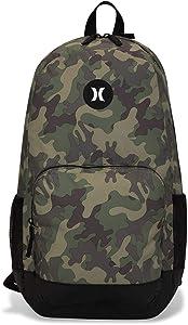 Hurley Renegade Laptop Backpack, Medium Olive (Woodland), one size