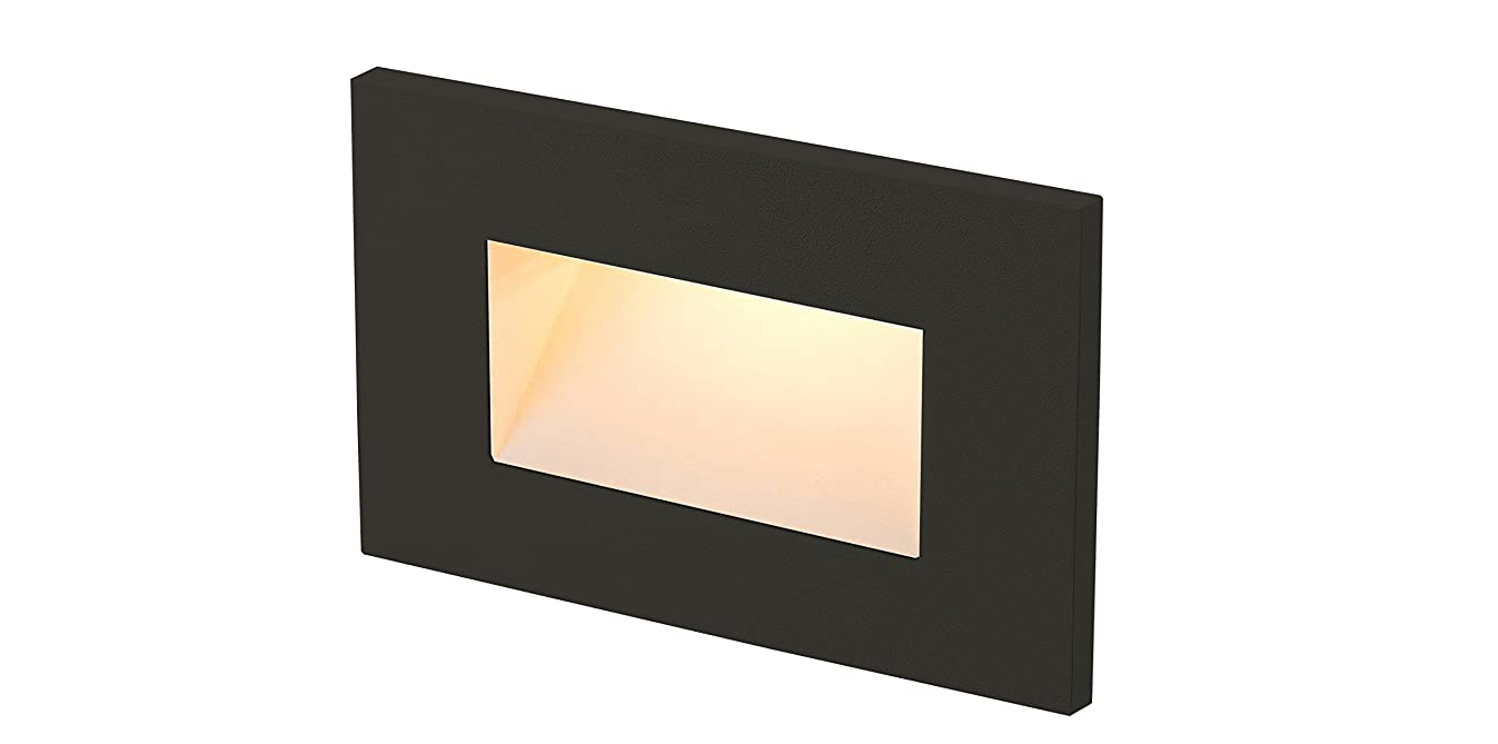 RP LIGHTING 8919 LED Mini Outdoor and Indoor Step/Stair Light (Bronze)