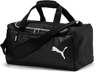 PUMA Unisex-Adult Fundamentals Sports Bag S Ustten Saplı Cantalar, Cok Renkli (Puma Black)