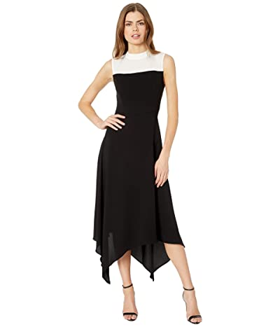 BCBGMAXAZRIA Color-Block Dress (Black) Women