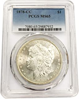 1878 CC Morgan Silver Dollar $1 MS-65 PCGS