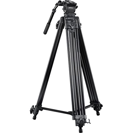 Mantona Dolomit 1300 Videostativ 188 Cm Für Dslr Und Kamera
